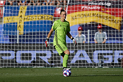 June 29, 2019 - Rennes, France - Almuth Schult (Vfl Wolfsburg) of Germany during the 2019 FIFA Women's World Cup France Quarter Final match between Germany and Sweden at Roazhon Park on June 29, 2019 in Rennes, France. (Credit Image: © Jose Breton/NurPhoto via ZUMA Press)