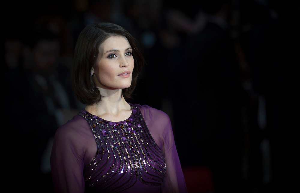 British actress Gemma Arterton arrives for the 40th annual Olivier Awards at The Royal Opera House in Central London, Britain, 3 April 2016. The annual theatre awards is after named after British actor Laurence Olivier.