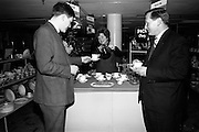 06/04/1966<br /> 04/06/1966<br /> 06 April 1966<br /> Piko Tea Pyrex teapot  demonstration at the China department of Switzers, Grafton Street, Dublin.