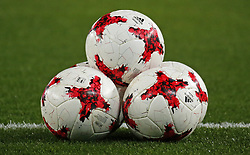 November 30, 2017 - Barcelona, Catalonia, Spain - the ball of the spanish cup during the Copa del Rey match between RCD Espanyol and CD Tenerife,i n Barcelona, on November 30, 2017. (Credit Image: © Joan Valls/NurPhoto via ZUMA Press)