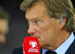 Glenn Hoddle - Photo mandatory by-line: Joe Meredith/JMP - Mobile: 07966 386802 - 08/09/14 - SPORT - FOOTBALL - Switzerland - Basel - St Jacob Park - Switzerland v England - Uefa Euro 2016 Group E Qualifier