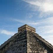 El Castillo (also known as Temple of Kuklcan) at the ancient Mayan ruins at Chichen Itza, Yucatan, Mexico 081216091506_4377x.tif
