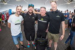 José Hermida with Merida Crew during the pre race events held at the V&A Waterfront in Cape Town prior to the start of the 2017 Absa Cape Epic Mountain Bike stage race held in the Western Cape, South Africa between the 19th March and the 26th March 2017<br /> <br /> Photo by Dominic Barnardt/Cape Epic/SPORTZPICS<br /> <br /> PLEASE ENSURE THE APPROPRIATE CREDIT IS GIVEN TO THE PHOTOGRAPHER AND SPORTZPICS ALONG WITH THE ABSA CAPE EPIC<br /> <br /> ace2016