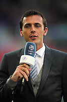 Florian GENTON / JOURNALISTE ET CONSULTANTS BE IN SPORTS  - 10.04.2015 - Caen / Monaco - 32e journee Ligue 1<br />