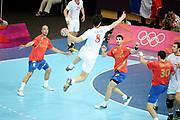 DESCRIZIONE : Handball Jeux Olympiques Londres <br /> GIOCATORE : Kopljar Marko CRO <br /> SQUADRA : Croatie HOMME<br /> EVENTO :  Handball Jeux Olympiques<br /> GARA : Croatie Espagne<br /> DATA : 06 08 2012<br /> CATEGORIA : handball Jeux Olympiques<br /> SPORT : HANDBALL<br /> AUTORE : JF Molliere <br /> Galleria : France JEUX OLYMPIQUES 2012 Action<br /> Fotonotizia : France Handball Homme Jeux Olympiques Londres premier tour Copper Box<br /> Predefinita :