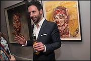 Antony Micallef , Antony Micallef private at Lazarides Rathbone, 11 RATHBONE PLACE, London. 12 February 2015