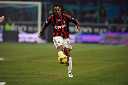 Ronaldinho in action. Inter Milan v Milan, 15-02-2009