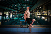 Col Pearse has been picked in Swimming Australia Paralympic Development Squad for January trial event. Photo Luke Hemer.
