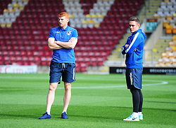 Connor Roberts of Bristol Rovers and Rory Gaffney of Bristol Rovers - Mandatory by-line: Alex James/JMP - 17/09/2016 - FOOTBALL - Coral Windows Stadium - Bradford, England - Bradford City v Bristol Rovers - Sky Bet League One