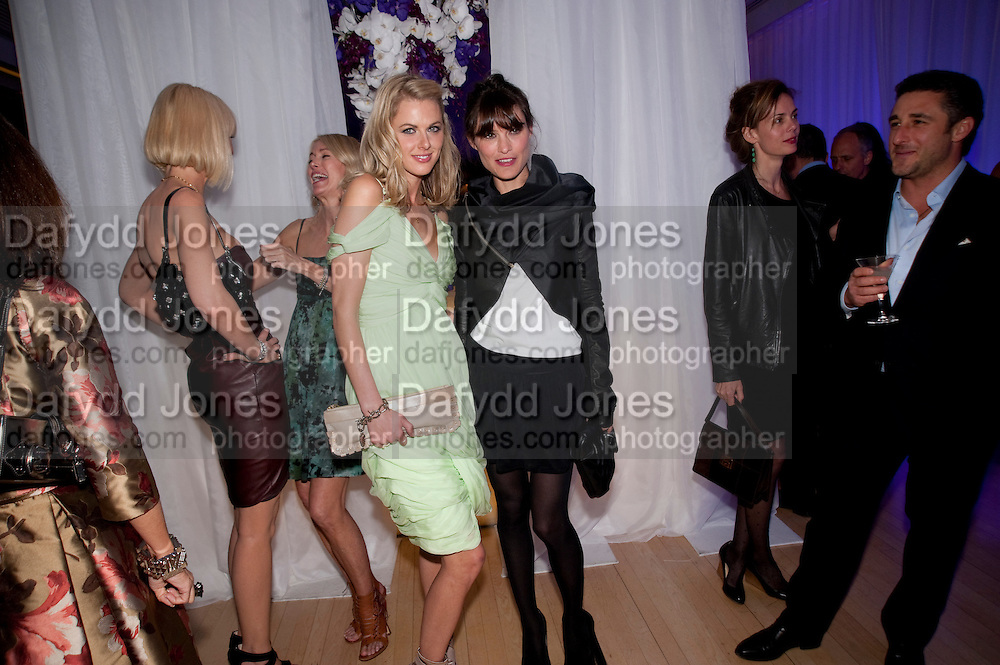 DONNA AIR; Sheherazade Goldsmith, An evening at Sanderson to celebrate 10 years of Sanderson, in aid of Clic Sargent. Sanderson Hotel. 50 Berners St. London. W1. 27 April 2010 *** Local Caption *** -DO NOT ARCHIVE-© Copyright Photograph by Dafydd Jones. 248 Clapham Rd. London SW9 0PZ. Tel 0207 820 0771. www.dafjones.com.<br /> DONNA AIR; Sheherazade Goldsmith, An evening at Sanderson to celebrate 10 years of Sanderson, in aid of Clic Sargent. Sanderson Hotel. 50 Berners St. London. W1. 27 April 2010