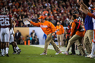 Dabo Swinney on the sidelines during the national championship game at Raymond James stadium in Tampa.