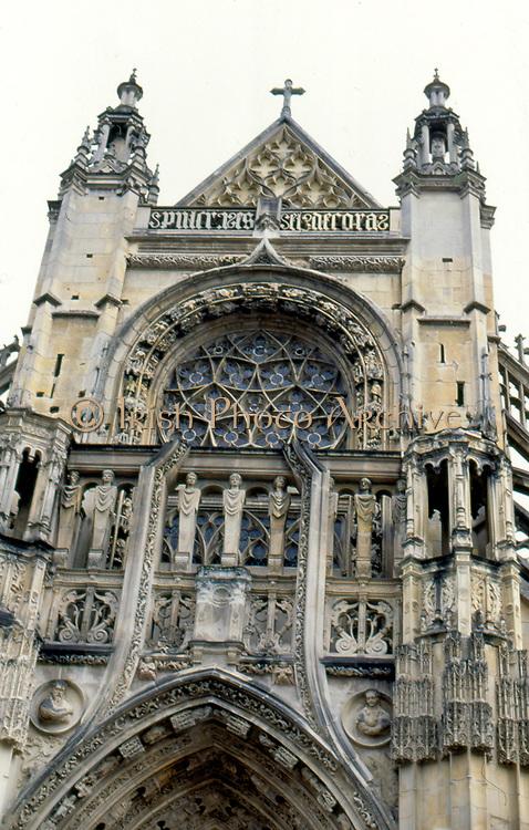 France, Normandy. Caudebec-en-Caux, Eglise Notre-Dame