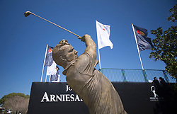 THE SATUE OF THE KING MR ARMOLD PALMER (USA) during  the The Arnold Palmer Invitational Championship 2017, Bay Hill, Orlando,  Florida, USA. 14/03/2017.<br /> Picture: PLPA/ Mark Davison<br /> <br /> <br /> All photo usage must carry mandatory copyright credit (&copy; PLPA | Mark Davison)