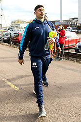 Matti Williams of Worcester Warriors arrives at Welford Road - Mandatory by-line: Robbie Stephenson/JMP - 03/11/2018 - RUGBY - Welford Road Stadium - Leicester, England - Leicester Tigers v Worcester Warriors - Gallagher Premiership Rugby