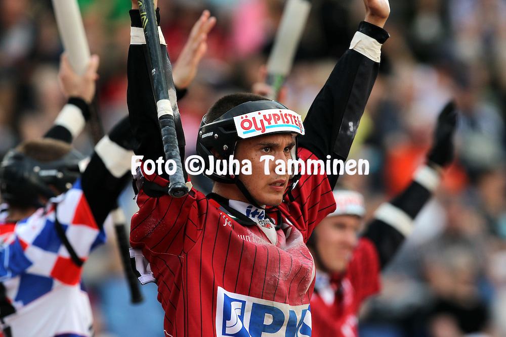 12.7.2012, Pihkala, Hyvink??..Superpesis 2012, Hyvink??n Tahko - Joensuun Maila..Lauri Kivinen - JoMa.