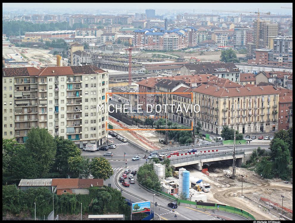 Torino 27/08/10, la Spina 3 è una vasta area di riconversione della ex zona industriale presente tra i quartieri di San Donato, Madonna di Campagna e Borgata Vittoria,.