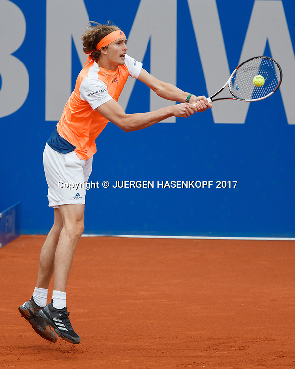 ALEXANDER ZVEREV (GER)<br /> <br /> Tennis - BMW Open 2017 -  ATP  -  MTTC Iphitos - Munich -  - Germany  - 5 May 2017.