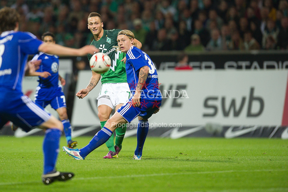 29.04.2011, Weserstadion, Bremen, GER, 1.FBL, Werder Bremen vs VFL Wolfsburg, im Bild Marko Arnautovic (Werder #07 )    EXPA Pictures © 2011, PhotoCredit: EXPA/ nph/  Kokenge       ****** out of GER / SWE / CRO  / BEL ******