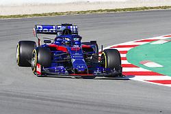 February 26, 2019 - Barcelona, Catalonia, Spain - Daniil Kvyat Scuderia Toro Rosso during F1 test celebrated at Circuit of Barcelona 26th February 2019 in Barcelona, Spain. (Credit Image: © Mikel Trigueros/NurPhoto via ZUMA Press)