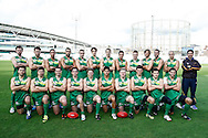Picture by Andrew Tobin/SLIK images +44 7710 761829. 3rd November 2012. .The European Continent team before the European Islands v European Continent Australian Rules football match at Kia Oval in London, UK