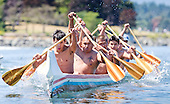 First war canoe race in over 100 years in Victoria's Inner Harbour June 27, 2015