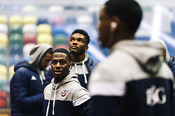 Jalan McCloud of Bristol Flyers looks on - Rogan/JMP - 14/10/2018 - BASKETBALL - Copper Box Arena - London, England - British Basketball All-Stars Championship 2018.