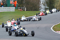 #1 Jonny McMULLAN Van Diemen DP08 during Avon Tyres Formula Ford 1600 National & Northern Championship - Post 89 - Race 3  as part of the BRSCC Oulton Park Season Opener at Oulton Park, Little Budworth, Cheshire, United Kingdom. April 09 2016. World Copyright Peter Taylor/PSP. Copy of publication required for printed pictures.  Every used picture is fee-liable.