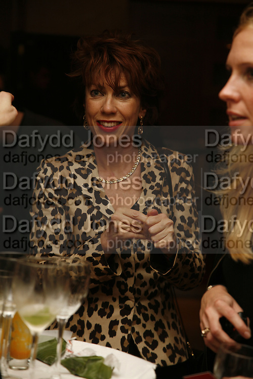 Kathy Lette , PARTY AFTER THE OPENING OF THE ANISH KAPOOR EXHIBITION AT THE LISSON GALLERY. Duchess Palace, 16 Mansfield St. London. W1. 10 October 2006. -DO NOT ARCHIVE-© Copyright Photograph by Dafydd Jones 66 Stockwell Park Rd. London SW9 0DA Tel 020 7733 0108 www.dafjones.com