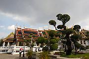 Wat Phra Keo and Grand Palace. Phra Maha Monthian Group.