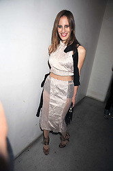 "LIZ GOLDWYN (descendant of the ""G"" in MGM)  at the Prada Congo Art Party hosted by Miuccia Prada and Larry Gagosian at The Double Club, 7 Torrens Street, London EC1 on 10th February 2009."