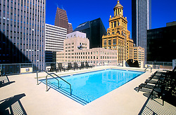 Stock photo of Downtown Houston buildings