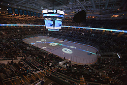 November 15, 2010; San Jose, CA, USA;  General view of HP Pavilion before the game between the San Jose Sharks and the Los Angeles Kings. San Jose defeated Los Angeles 6-3. Mandatory Credit: Jason O. Watson / US PRESSWIRE