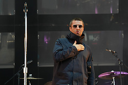 Liam Gallagher performing live on the Main Stage at the 2017 Reading Festival. Photo date: Sunday, August 27, 2017. Photo credit should read: Richard Gray/EMPICS Entertainment