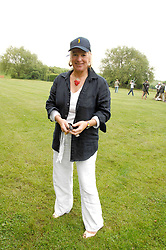 CAROL THATCHER at a charity shoot in aid of the charity Save The Rhino held at the West London Shooting School, Northolt, Middlesex on 30th May 2008.<br />