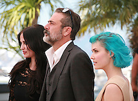 Eva Green, Jeffrey Dean Morgan, Nanna Oland Fabricius<br /> at the photo call for the film The Salvation at the 67th Cannes Film Festival, Saturday 17th May 2014, Cannes, France.