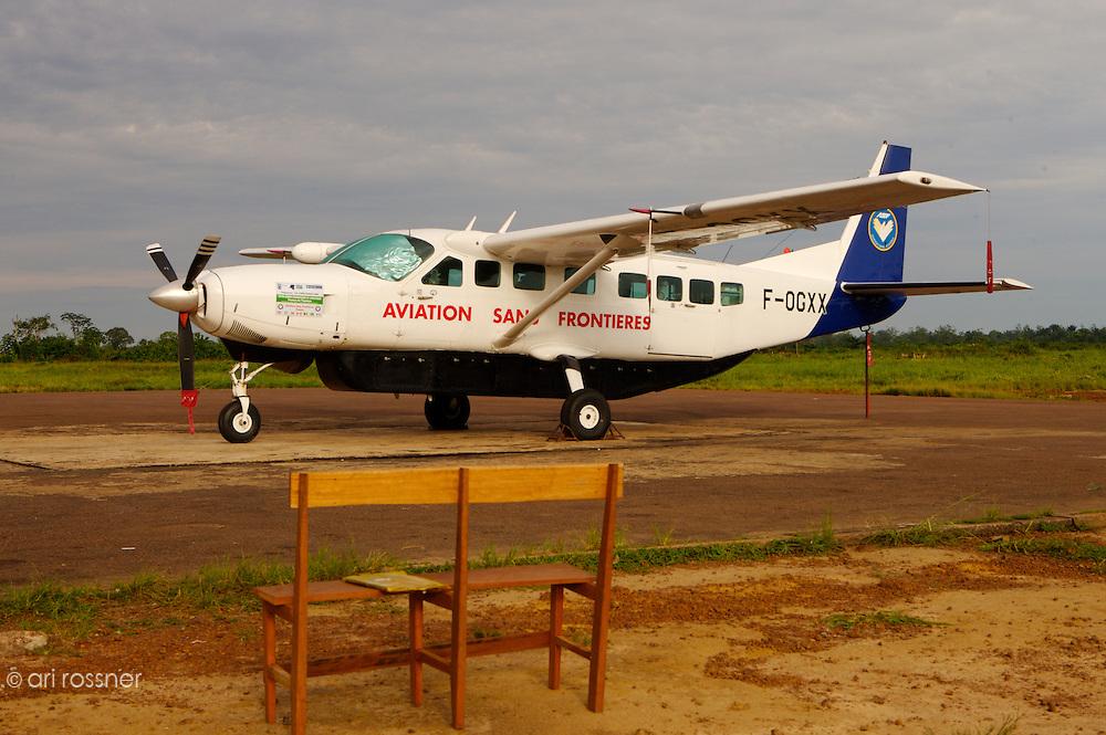 Le Cessna Caravan d'ASF (Aviation Sans Frontieres)