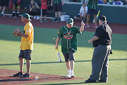 29 July 2017: Illinois Congressman Dan Brady - Legends Baseball game sponsored by the Normal CornBelters at Corn Crib Stadium on the campus of Heartland Community College in Normal Illinois
