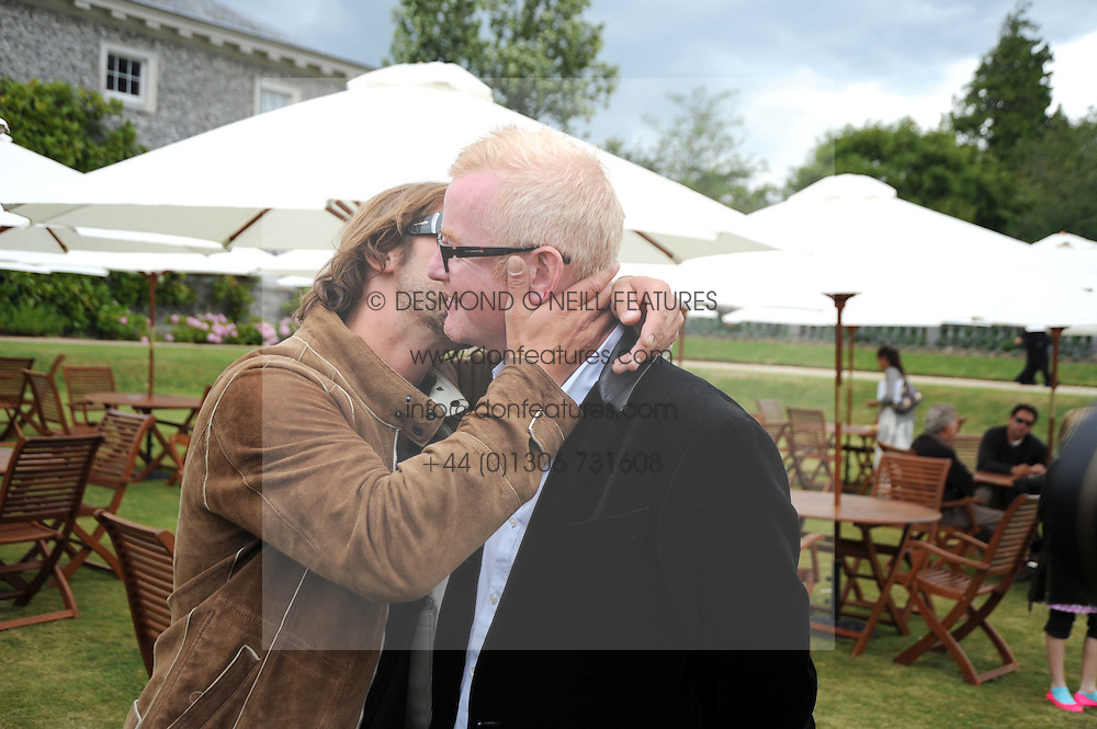 Left to right, JAY KAY and CHRIS EVANS at the Cartier Style et Luxe, the Goodwood Festival of Speed, West Sussex on 13th July 2008.<br /> <br /> NON EXCLUSIVE - WORLD RIGHTS