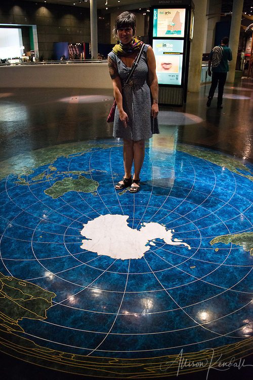Exhibits about the natural and cultural history of New Zealand, at the Te Papa museum in Wellington