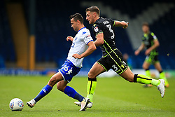 Zeli Ismail of Bury and Lee Brown of Bristol Rovers - Mandatory by-line: Matt McNulty/JMP - 19/08/2017 - FOOTBALL - Gigg Lane - Bury, England - Bury v Bristol Rovers - Sky Bet League One