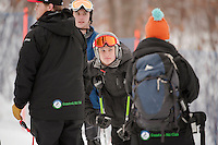Gunstock Ski Club's Open Race on December 29, 2013.  ©2013 Karen Bobotas Photographer