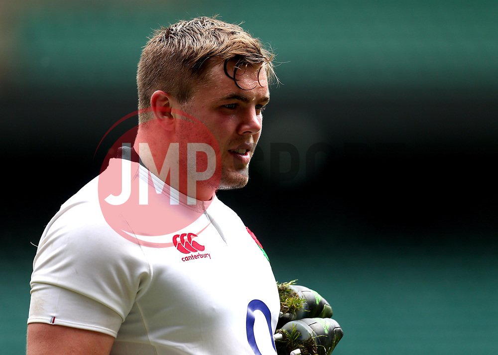Jack Singleton of England takes part in training at Twickenham ahead of the upcoming tour of Argentina - Mandatory by-line: Robbie Stephenson/JMP - 02/06/2017 - RUGBY - Twickenham - London, England - England Rugby Training