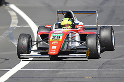 2. Platz beim zweiten Sonntagsrennen: Mick Schumacher beim Formel 4 Rennen auf dem Nürburgring / 070816<br /> <br /> *** ADAC Formula Four championship at Nurburgring on August 7, 2016 in Nurburg, Germany ***
