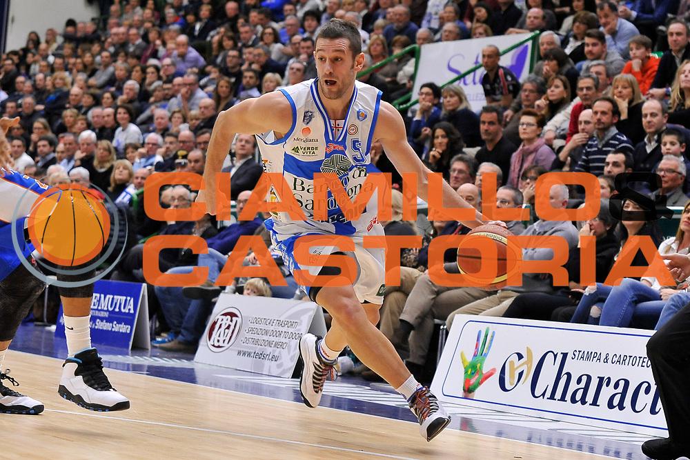 DESCRIZIONE : Brindisi  Lega A 2014-15 Dinamo Banco di Sardegna Sassari - Acqua Vitasnella Cant&ugrave;<br /> GIOCATORE : Matteo Formenti<br /> CATEGORIA : Penetrazione<br /> SQUADRA : Dinamo Banco di Sardegna Sassari<br /> EVENTO : Lega A 2014-2015<br /> GARA : Dinamo Banco di Sardegna Sassari - Acqua Vitasnella<br /> DATA : 28/02/2015<br /> SPORT : Pallacanestro<br /> AUTORE : Agenzia Ciamillo-Castoria/C.Atzori<br /> Galleria : Lega Basket A 2014-2015<br /> Fotonotizia : Dinamo Banco di Sardegna Sassari - Acqua Vitasnella<br /> Predefinita :