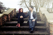 Pre Wedding Photographs of Tanya & Vasili at The Arboretum, Nottingham