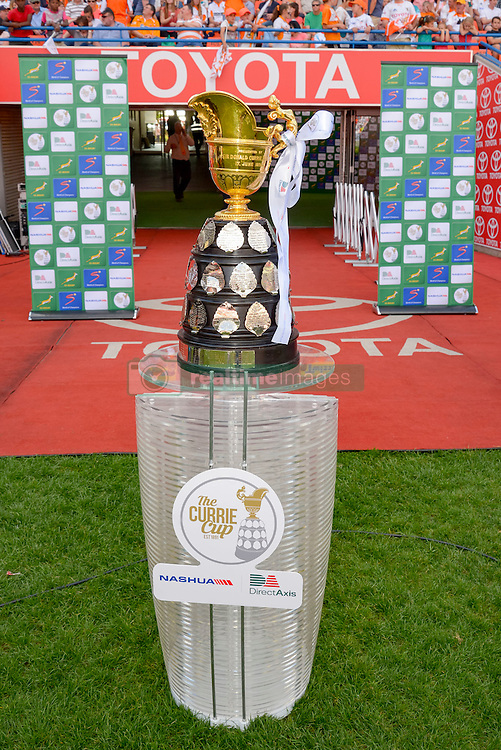 General view of the Currie Cup during the Currie Cup Final between the The Free State Cheetahs and Blue Bulls held at Toyota Stadium (Free State Stadium), Bloemfontein, South Africa on the 22nd October 2016<br /> <br /> Photo by:   Frikkie Kapp / Real Time Images