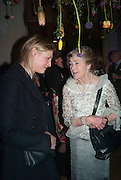 LAURA BURLINGTON; MARCHIONESS OF SALISBURY, Fashion and Gardens, The Garden Museum, Lambeth Palace Rd. SE!. 6 February 2014.