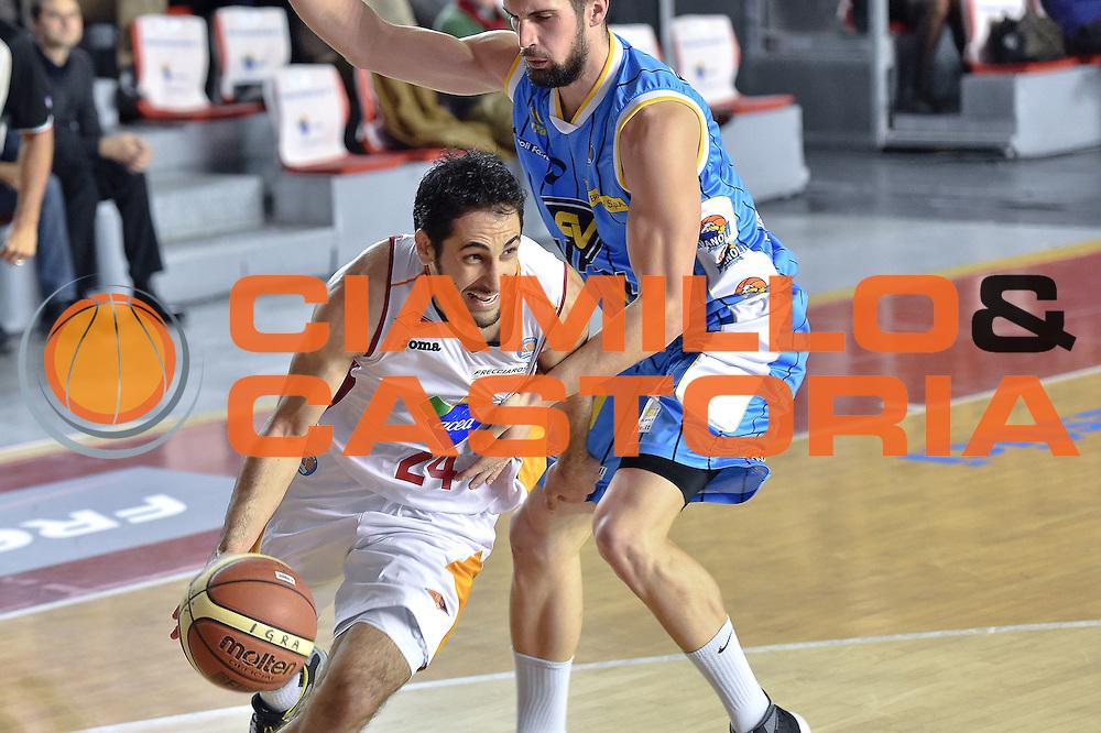 DESCRIZIONE : Roma Lega A 2014-15 Acea Roma vs Vanoli Basket Cremona<br /> GIOCATORE : Stipcevic Rok<br /> CATEGORIA : Palleggio con penetrazione<br /> SQUADRA : Acea Roma<br /> EVENTO : Campionato Lega A 2014-2015 GARA : Acea Roma vs Vanoli Basket Cremona<br /> DATA : 07/12/2014 <br /> SPORT : Pallacanestro <br /> AUTORE : Agenzia Ciamillo-Castoria/GiulioCiamillo <br /> Galleria : Lega Basket A 2014-2015 <br /> Fotonotizia : Acea Roma Lega A 2014-15 Acea Roma vs Vanoli Basket Cremona<br /> Predefinita :