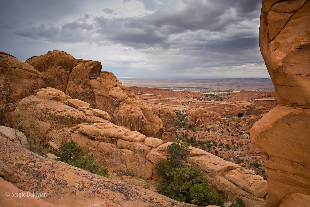 Devil's Garden trail in Arches National Park nar Moab, Utah