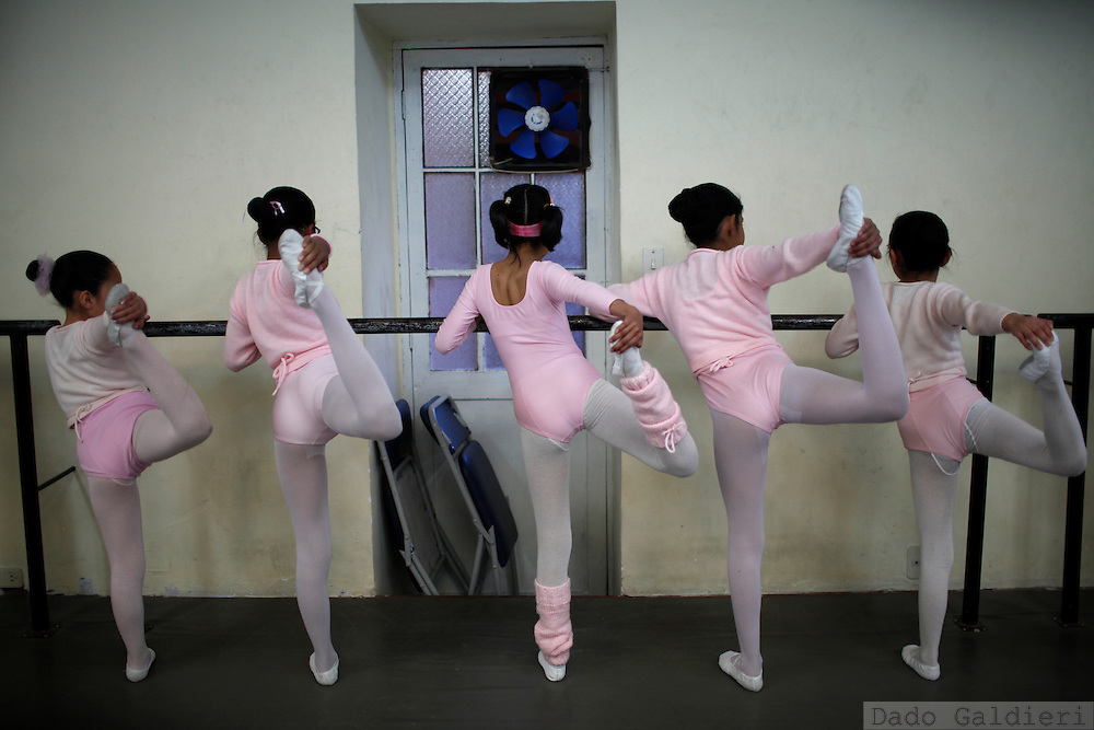 at the National School of Ballet in La Paz, Bolivia, Tuesday, July 13, 2010. (Photo Dado Galdieri)